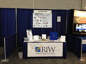 RIW hosted a booth at the 2013 New England Food Show. We appreciate the many that stopped by. Congratulations to Michael Colomba, owner of Crescent Suites Hotel in Waltham, who was the winner of the Red Sox ticket raffle.