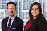 Attorneys Adam Barnosky and Bethany Grazio
